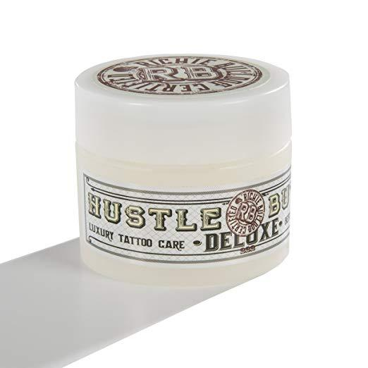 Hustle Butter Deluxe – Tattoo Butter for Before, During, and After the Tattoo Process 1 oz