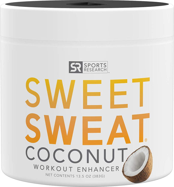 Sports Research Sweet Sweat Coconut Workout Enhancer Gel (13.5 oz) 383 g