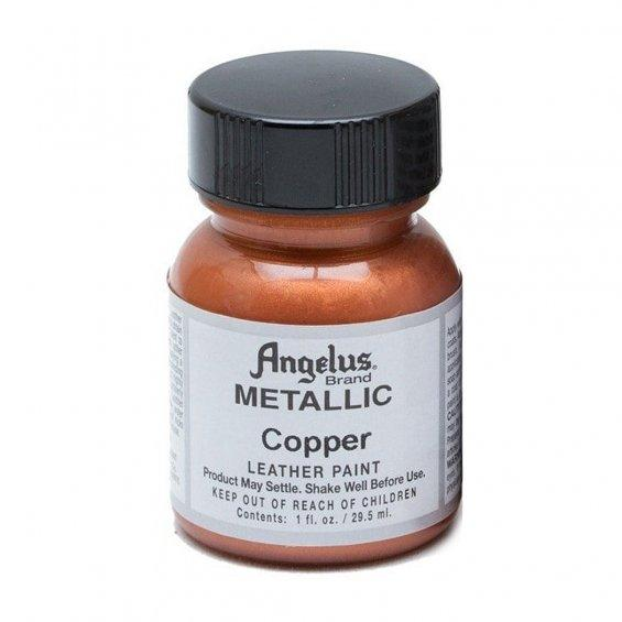 Angelus Metallic Leather Paint (Copper)