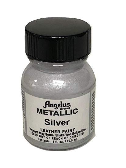 Angelus Metallic Leather Paint (Silver)