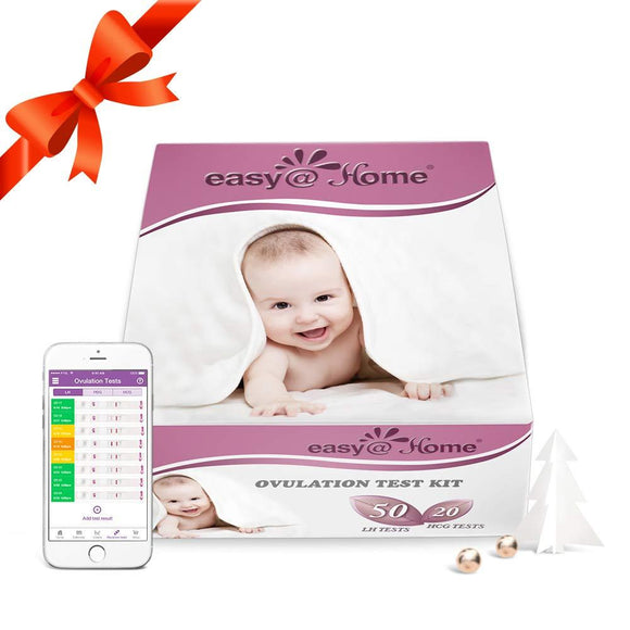 Easy@Home Ovulation Test Kit (50 LH Test + 20 HCG Test)