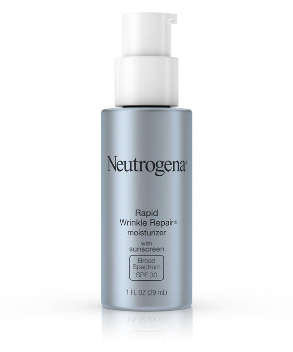Neutrogena Rapid Wrinkle Repair Moisturizer with Sunscreen Broad Spectrum SPF 30, 1 fl.oz