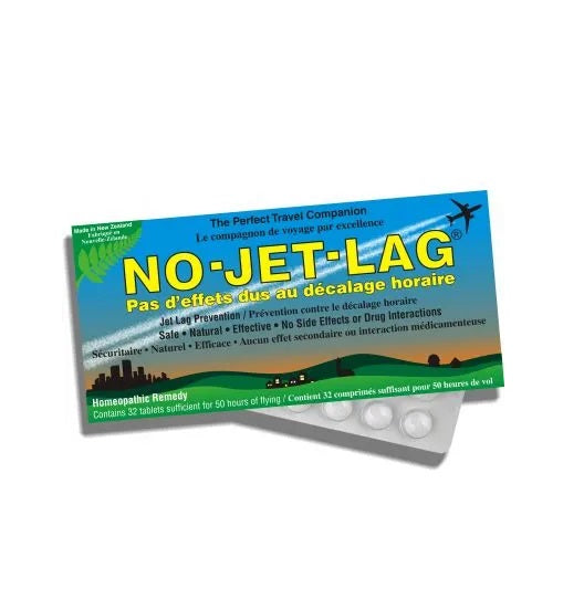 Miers Labs Homeopathic Jet Lag Prevention, 32 Chewable Tablets (Packaging may Vary)
