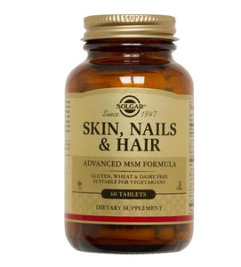 Solgar Skin Nails & Hair Advanced MSM Formula (60 Tablets)