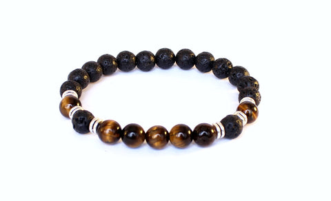 Black Lava Tiger Eye-Unisex Fit