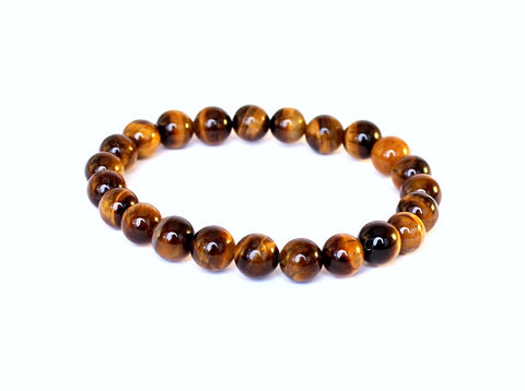 Wellness Tiger Eye Gemstone Bracelet