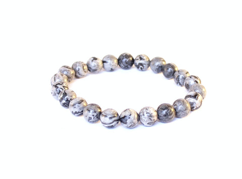 Wellness Wave Jasper Bracelet
