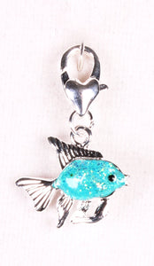 Ocean Blue Fish Sparkle