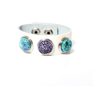 PURPLE TURQUOISE DREAM CUFF