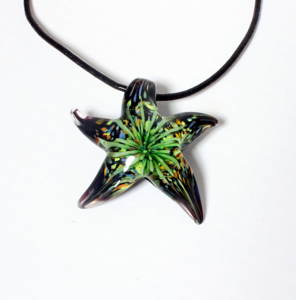 STARFISH DREAM-MURANO GLASS NECKLACE