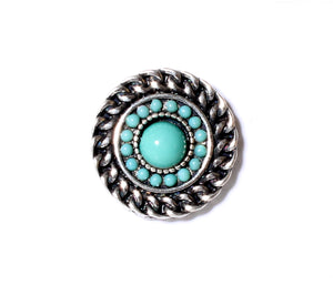 SPARKLE SNAP-Simple Turquoise