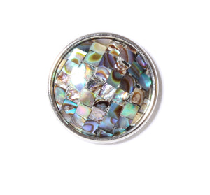 SPARKLE SNAP-Abalone Mosaic