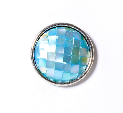 SPARKLE SNAP-Aqua Blue Shell