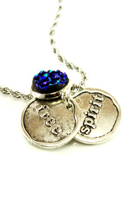 Just a Free Spirit Charm Necklace