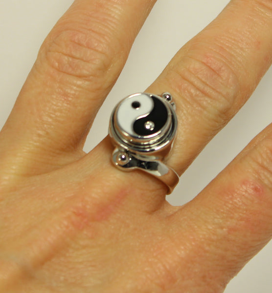 Sparkle Snap Ring Set-Size 8
