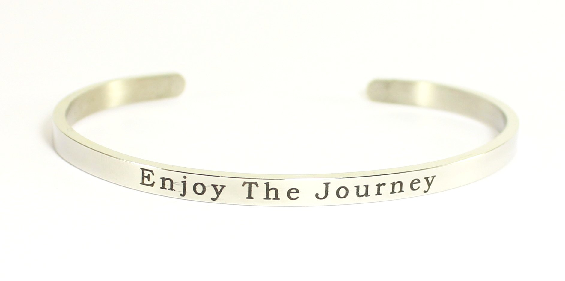 Love Your Life Message Bracelet-Enjoy The Journey