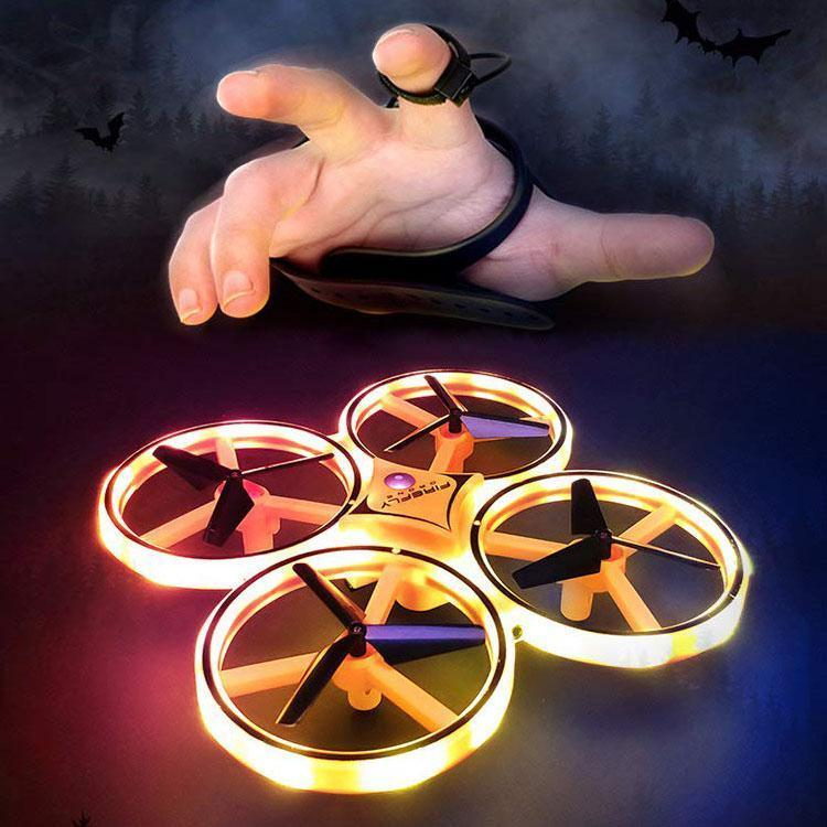 Limited promotion: free delivery) gesture remote control four axis intelligent uav