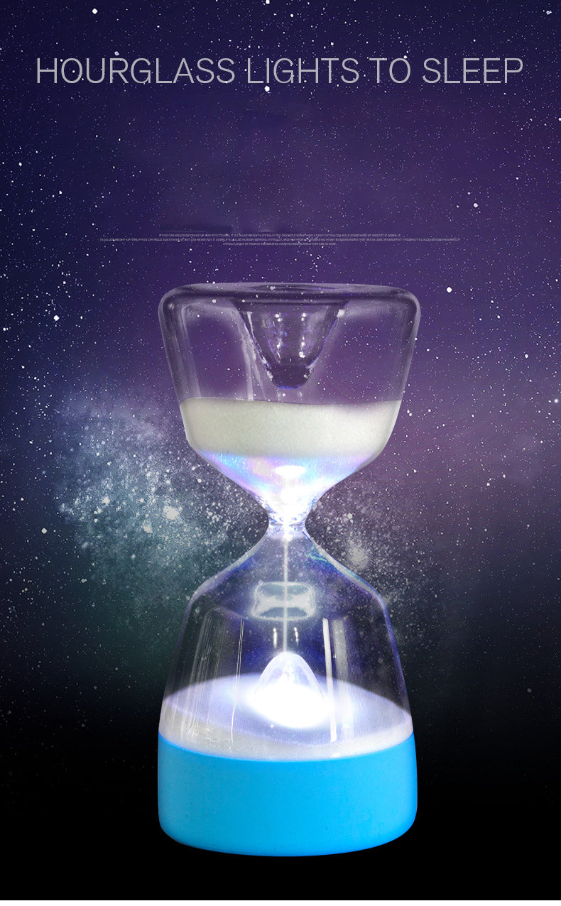 Hot sale and free shipping!!!!A hourglass light that lets you fall asleep quickly