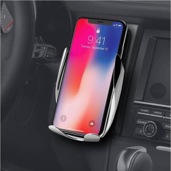 LAST DAY  Free Shipping- Automatic clamping Wireless Car Charger    (factory Outlet)