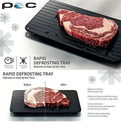 Quick defrost tray frozen food defrost plate defrost meat
