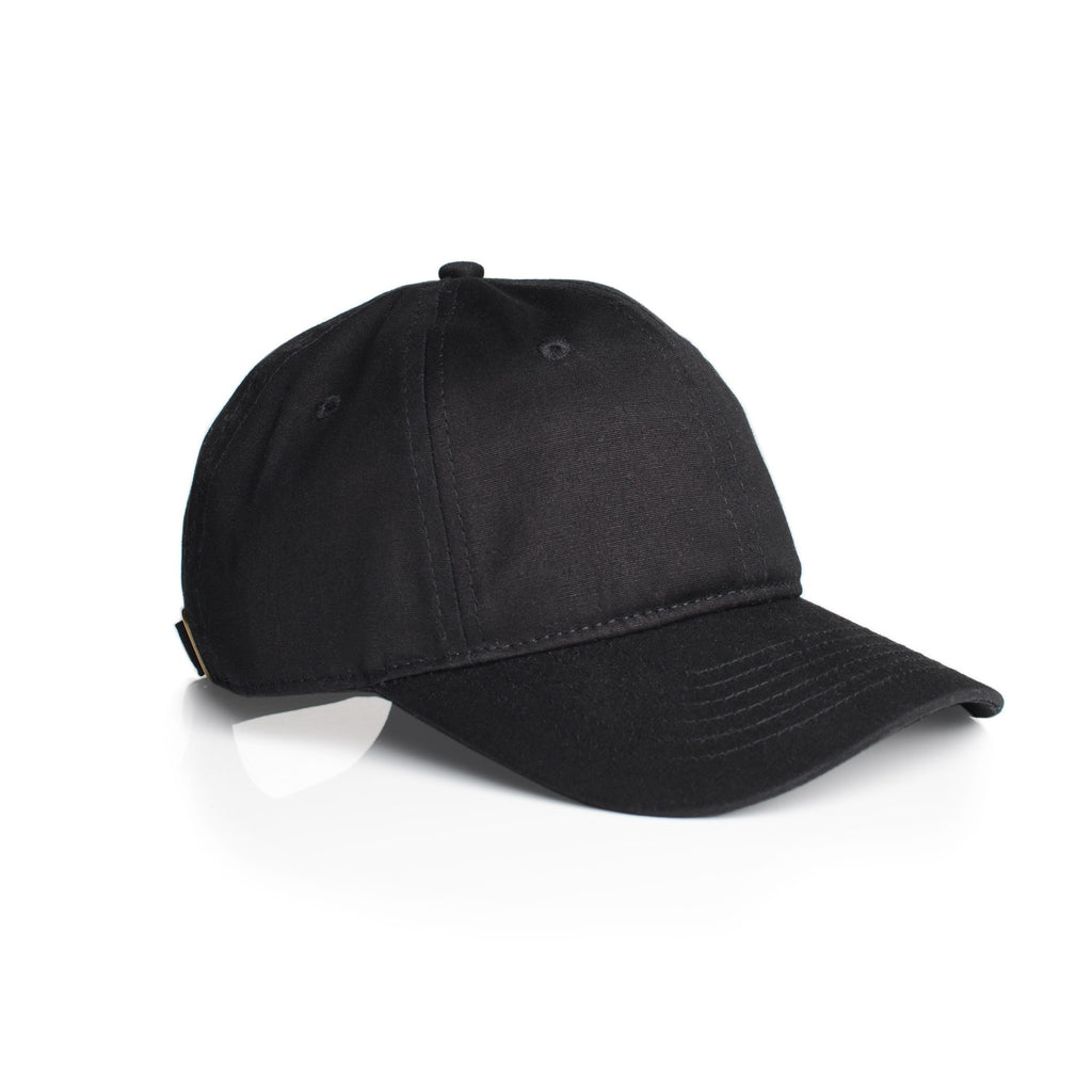 Low Profile 6-Panel Cap 1111 - Black