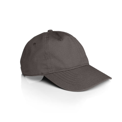 Low Profile 6-Panel Cap 1111 - Charcoal Grey
