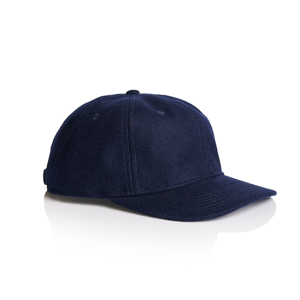 1113 Wool Unstructured 6 Panel - Navy