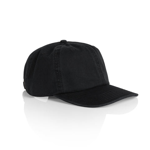 The 1116 Low Profile Cap - Black