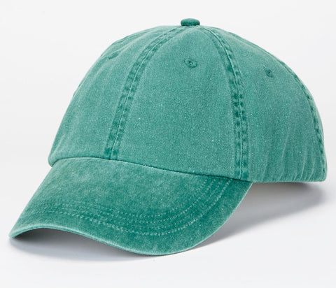 Pigment Dyed Low Profile Cap (Multiple Colors)