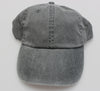 Charcoal Pigment Dye Low Profile Dad Cap