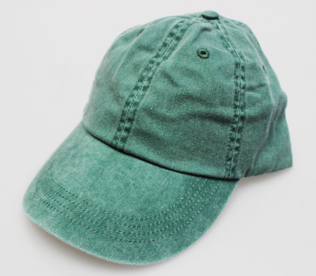 Kelly Pigment Dye Low Profile Dad Cap (SALE)