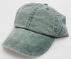 Pine Pigment Dye Low Profile Dad Cap (SALE)