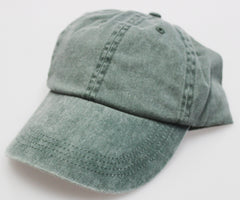 Pine Pigment Dye Low Profile Dad Cap