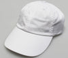 White Pigment Dye Low Profile Dad Cap