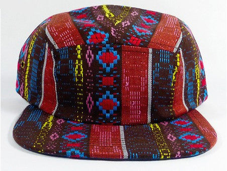 Red Tribal 5-Panel