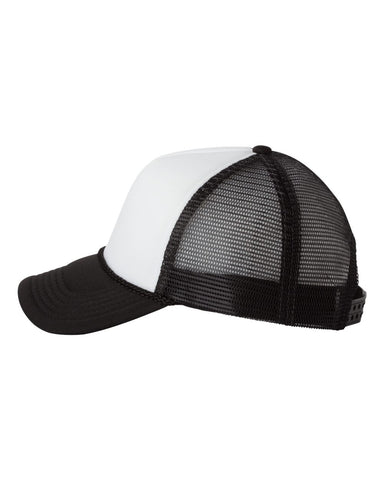 Foam Trucker - White/ Black