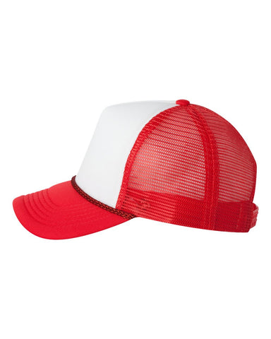 Foam Trucker - White/ Red