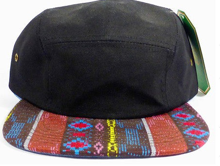Black/ Red Tribal 5-Panel