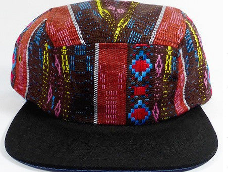 Red Tribal/ Black 5-Panel