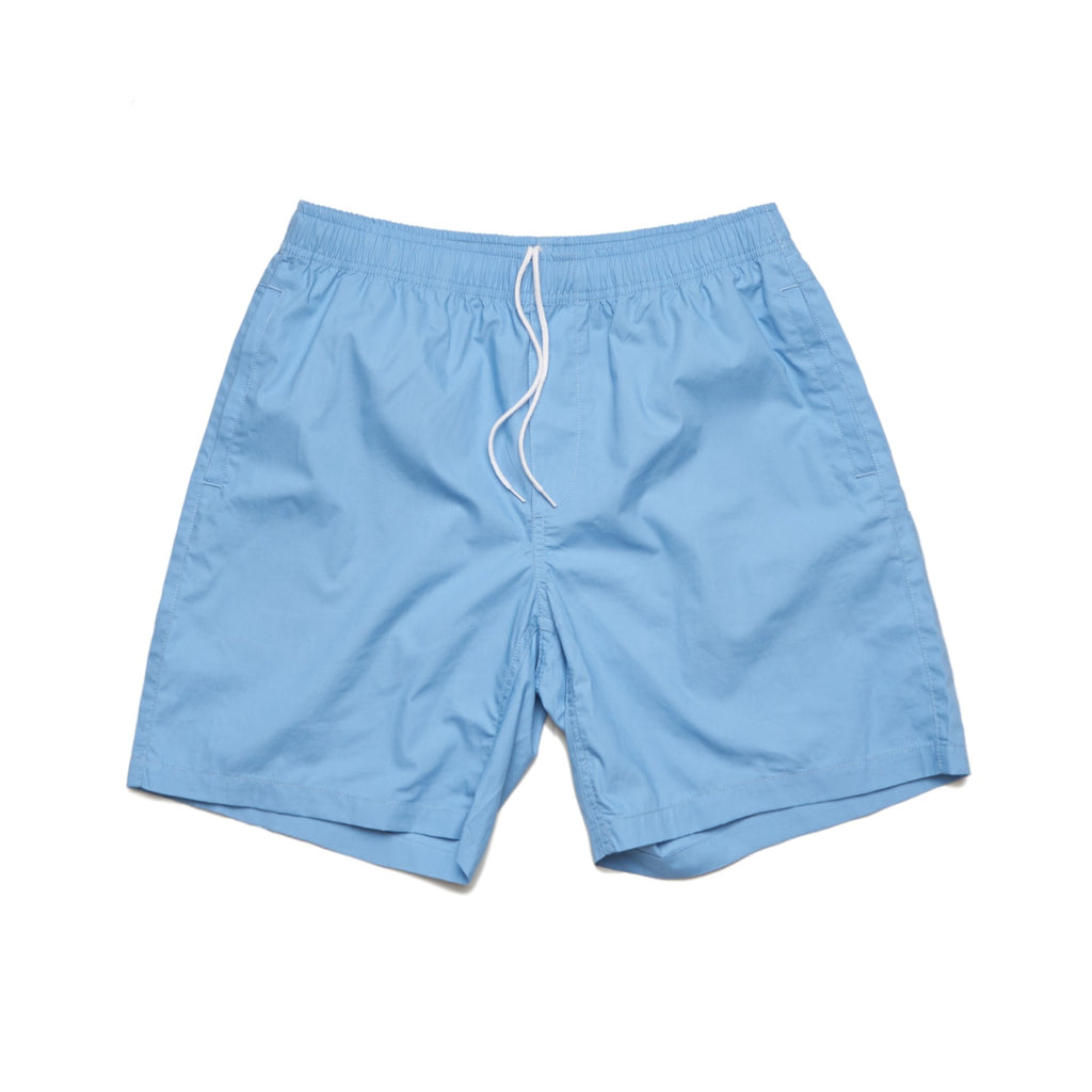 Summer Beach Shorts - Carolina Blue