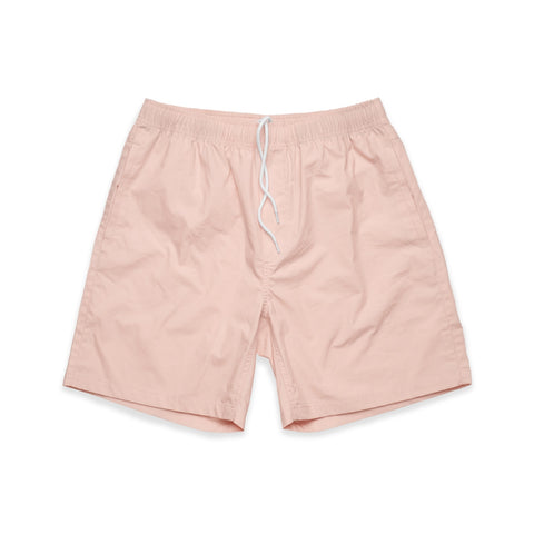 Summer Beach Shorts - Pale Pink