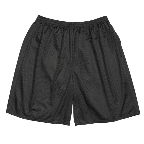 Mesh Gym Shorts - Black