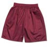 Mesh Gym Shorts - Maroon
