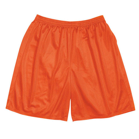 Mesh Gym Shorts - Orange