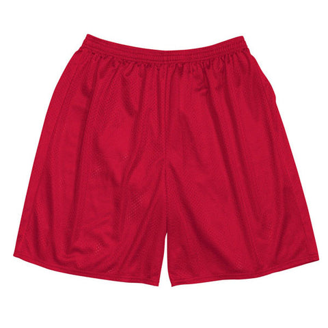 Mesh Gym Shorts - Red