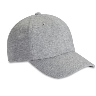 Jersey Blend Ash Heather 6-Panel Unstructured Dad Hat