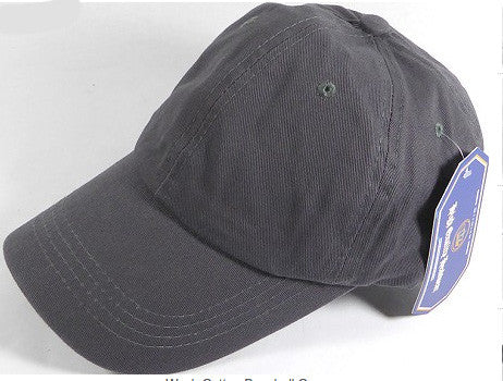 Charcoal Grey Unstructured 6-Panel