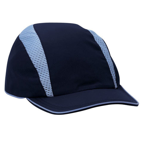 Performance Runner Cap Navy/ Cool Blue