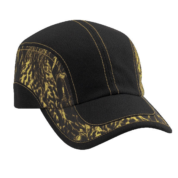 Duck Camo Swirl 6-Panel Unstructured - Black