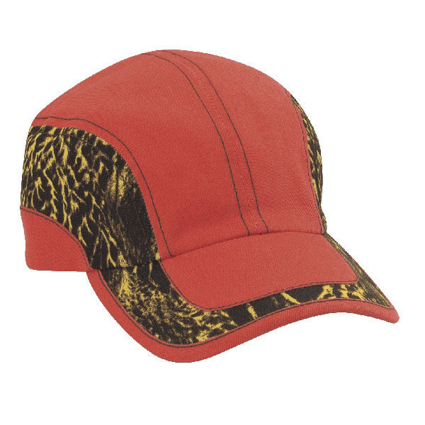 Duck Camo Swirl 6-Panel Unstructured - Orange